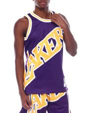 Mitchell & Ness - LAKERS Big Face Fashion Tank-2507209