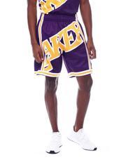 Shorts - LAKERS Big Face Short-2507231