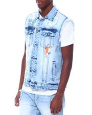 Born Fly - Ice Cream Truck Denim Vest-2506724