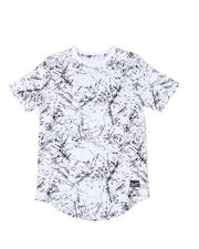 Tops - Allover Print Crew Neck Tee (8-20)-2507962