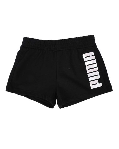 Puma - No.1 Logo Pack French Terry Shorts (4-6X)