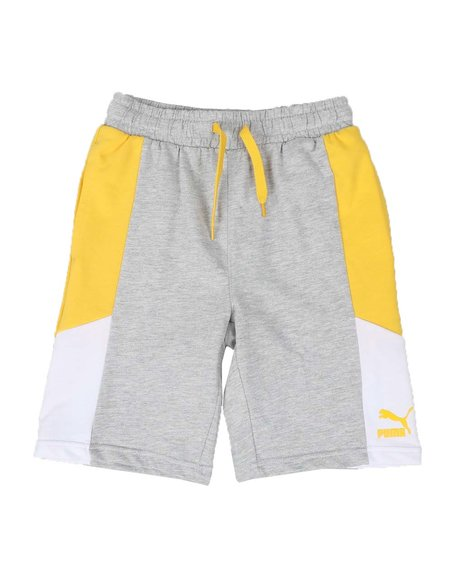 Puma - MCS French Terry Color Block Shorts (8-20)