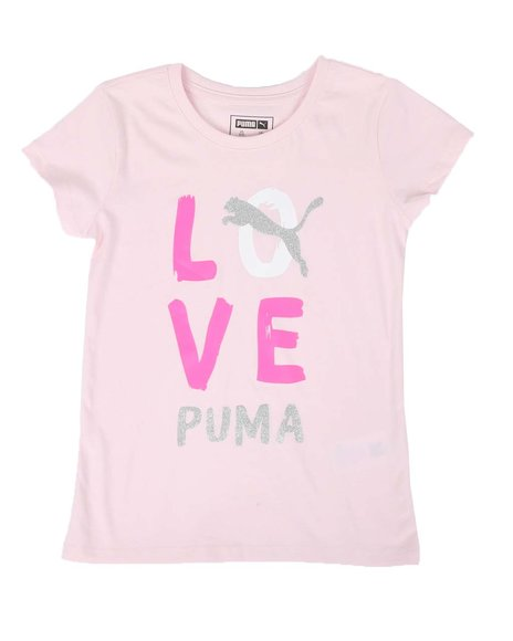 Puma - Alpha Pack Graphic Tee (7-16)