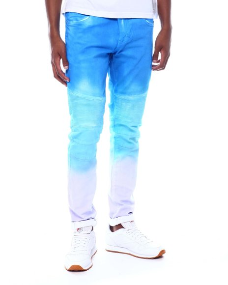 Crysp - SKYWALKER PURPLE BLUE FADE Moto Jean