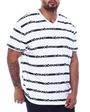 Ecko - Ecko Repeat S/S V Neck (B&T)-2508694