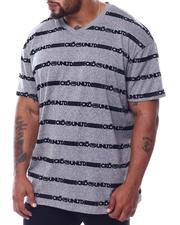 Ecko - Ecko Repeat S/S V Neck (B&T)-2508699
