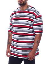 T-Shirts - Stripe Crew T-Shirt (B&T)-2508899