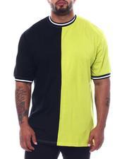 Buyers Picks - Two Tone Split Crew T-Shirt (B&T)-2508916