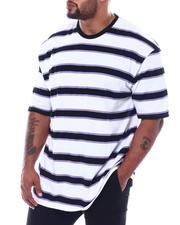 Big & Tall - Stripe Crew T-Shirt (B&T)-2508963