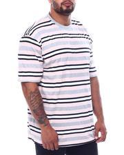T-Shirts - Stripe Crew T-Shirt (B&T)-2508972