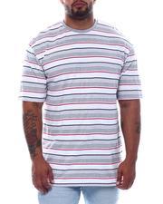 T-Shirts - Stripe Crew T-Shirt (B&T)-2508959