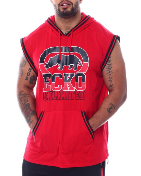 Ecko - Big Hit Sleeveless Hood (B&T)