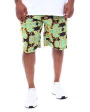 Men - Baroque Printed Scuba Shorts (B&T)-2509040