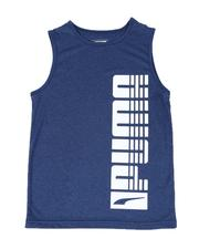 Boys - Rebel Pack Heathered Performance Muscle Tee (8-20)-2508190
