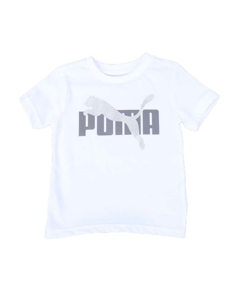 Puma - Rebel Bold Pack Heathered Graphic Tee (2T-4T)