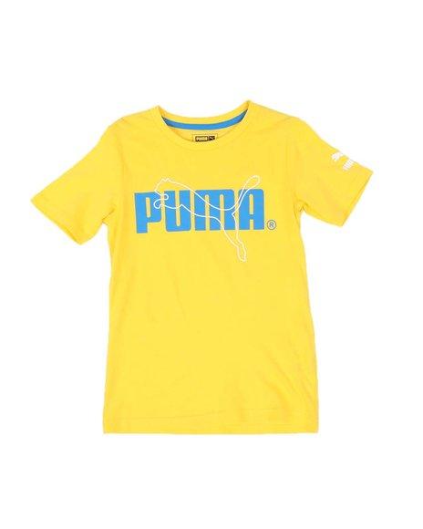 Puma - Logo Graphic Tee (8-20)