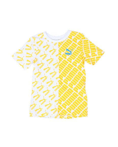 Puma - Graphic Injection All Over Print Tee (8-20)
