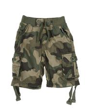 Arcade Styles - Washed Twill Jogger Camo Shorts (2T-4T)-2508392