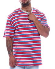 Short-Sleeve - Stripe Crew T-Shirt (B&T)-2508946