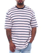Short-Sleeve - Stripe Crew T-Shirt (B&T)-2508981