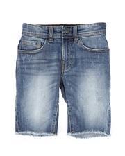 Jordan Craig - Denim Raw Edge Shorts (2T-10)-2509497