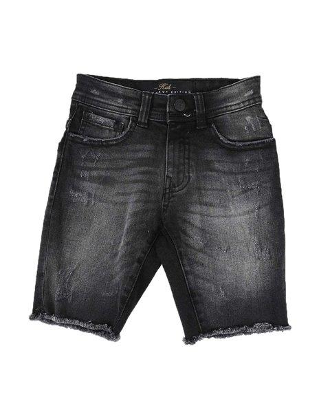 Jordan Craig - Denim Raw Edge Shorts (2T-10)