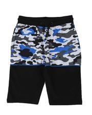 SASCO - Color Block Camo Shorts (8-18)-2509560