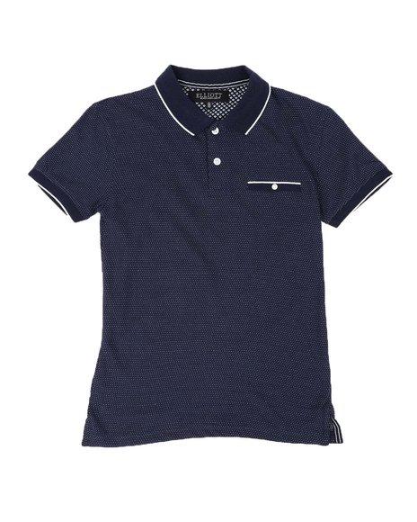 SASCO - Textured Birdseye Polo Shirt (8-18)