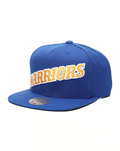 Mitchell & Ness - Golden State Warriors Wool Solid Snapback Hat
