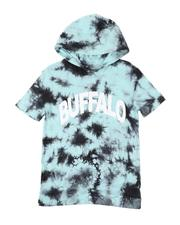 Buffalo - Logo Tie Dye Hooded T-Shirt (8-20)-2509373