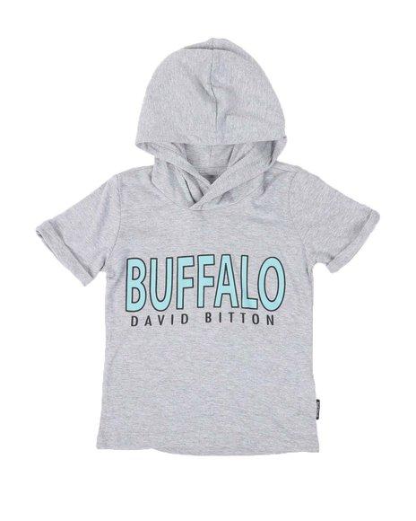 Buffalo - Logo Hooded T-Shirt (8-20)