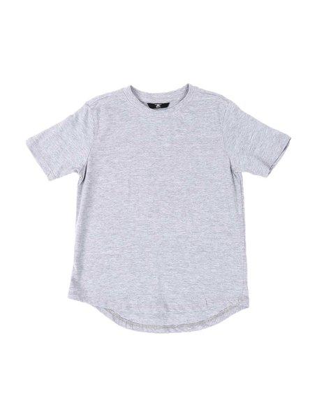 Jordan Craig - Crew Neck Scallop Hem T-Shirt (2T-10)