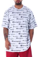 Champion - All-over Print Short Sleeve Tee (B&T)-2507694