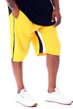 Men - Cut & Sew Colorblock Shorts (B&T)-2510216