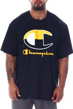 Champion - Big C Script In Middle Tee (B&T)-2510458