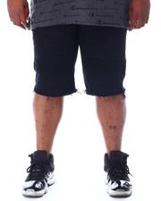 Big & Tall - Twill Moto Shorts (B&T)-2510235