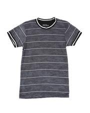Tops - Striped Camo T-Shirt (8-20)-2509737
