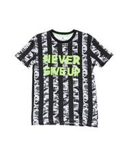 Boys - Never Give Up Striped Camo Tee (8-18)-2510419