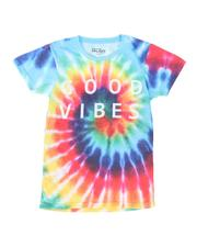 Boys - Good Vibes Tie Dye T-Shirt (8-20)-2509697