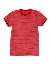 Boys - Striped Camo T-Shirt (8-20)-2509727