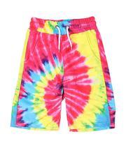 Sizes 8-20 - Big Kids - Tie Dye Printed Shorts (8-20)-2509809