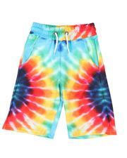 Shorts - Tie Dye Printed Shorts W/ Drawstrings (8-20)-2509992