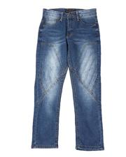 Boys - Stretch Cut & Sew 3D Embossed Jeans (8-18)-2510106
