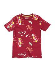 Sizes 8-20 - Big Kids - Bowling Print Tee (8-18)-2510405