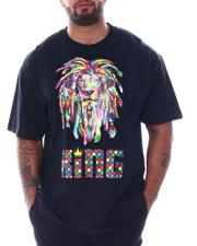 Hard Turn - Rainbow Rasta King Tee (B&T)-2511410