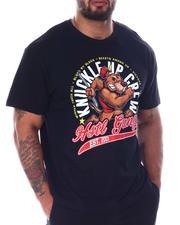 Hustle Gang - Down To Fight T-Shirt (B&T)-2512237