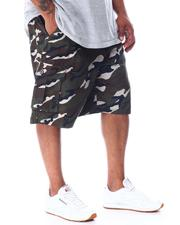 Big & Tall - Cargo Pocket Shorts With Belt (B&T)-2510147