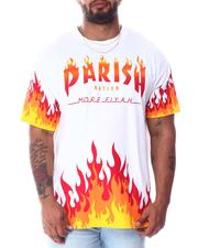 Shirts - Fire Flame T-Shirt (B&T)-2512113