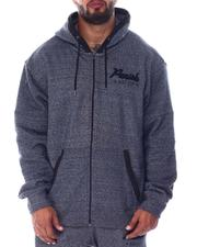 Parish - Full Zip Marled Hoodie (B&T)-2512141
