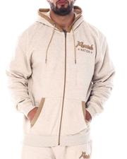 Parish - Full Zip Marled Hoodie (B&T)-2512170